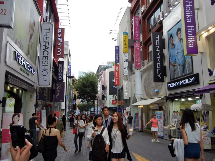 View of Myeongdong