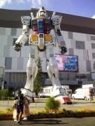 THE giant life-sized Gundam!!