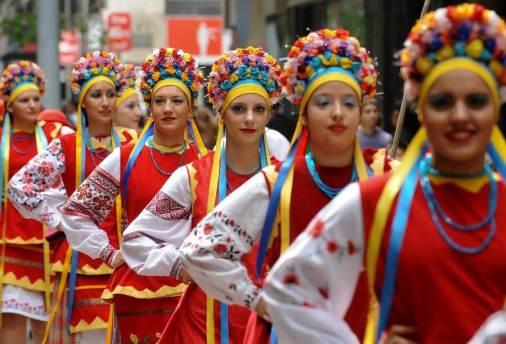 Folklore festival Santiago