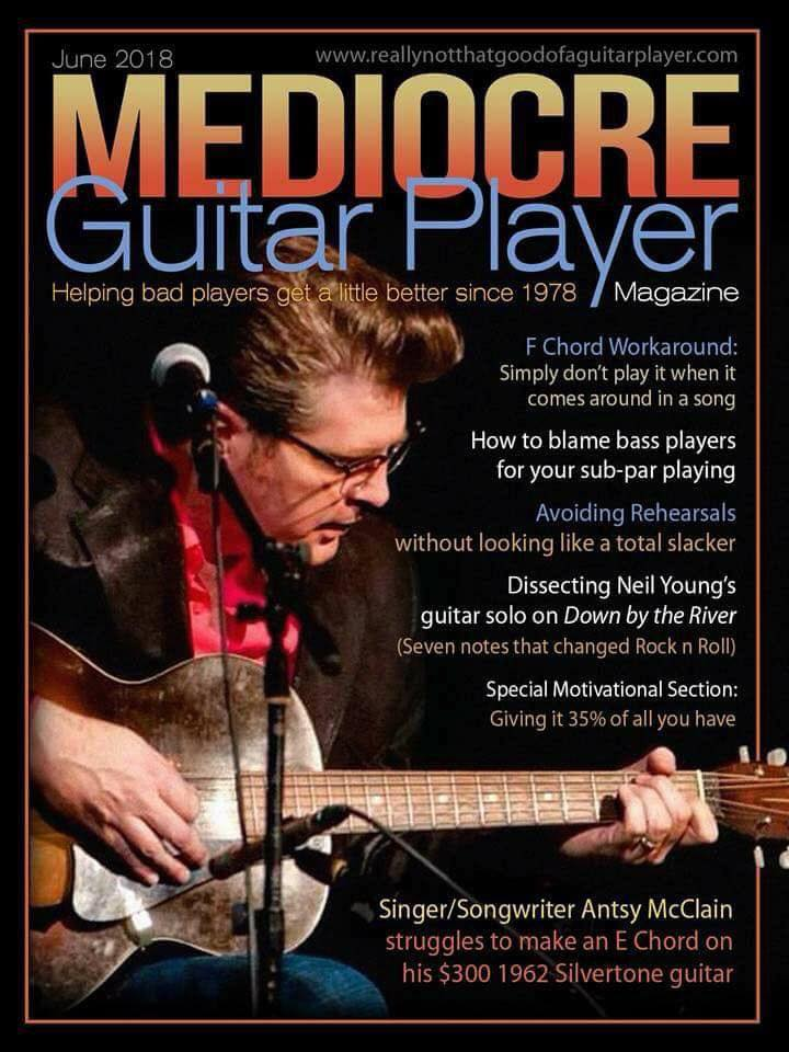 Sunday Funnies  Mediocre Guitar Player Magazine  WyzGuys