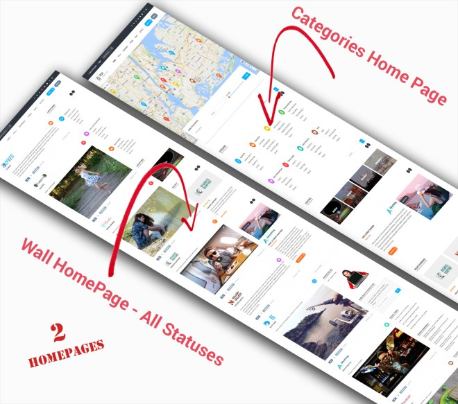 Two Available Homepages