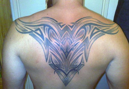 Tatuaże Męskie Tribal Na Plecach Blog Z Tatuażami