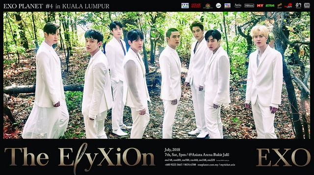 """EXO to hold """"EXO PLANET #4 – The EℓyXiOn – in KUALA LUMPUR"""" this July"""