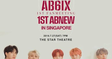 AB6IX Brings Their 1st Fanmeeting '1ST ABNEW' to Singapore