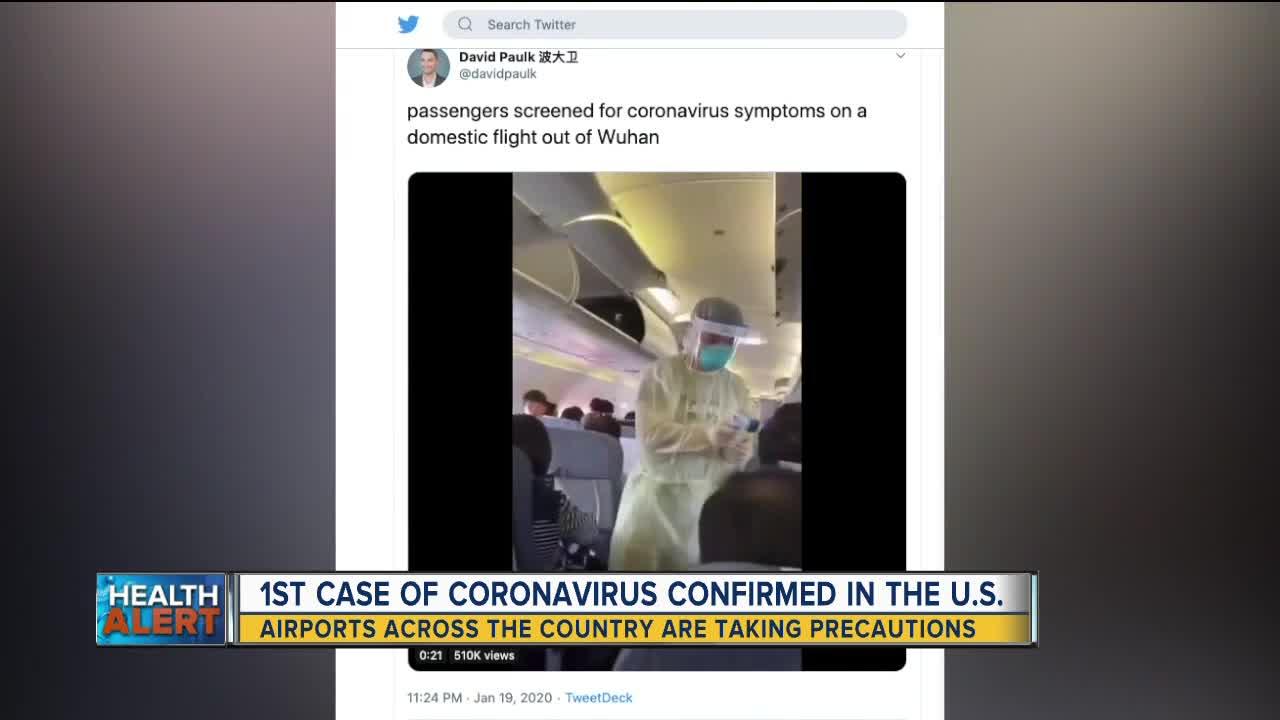 1st case of Coronavirus reported in the US, Michigan lawmaker ...