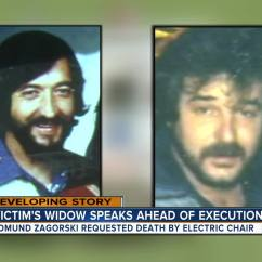 Death By Electric Chair Video Milo Baughman Thayer Coggin Edmund Zagorski Chooses In Execution Row Inmate Has Chosen The For His Upcoming Scheduled