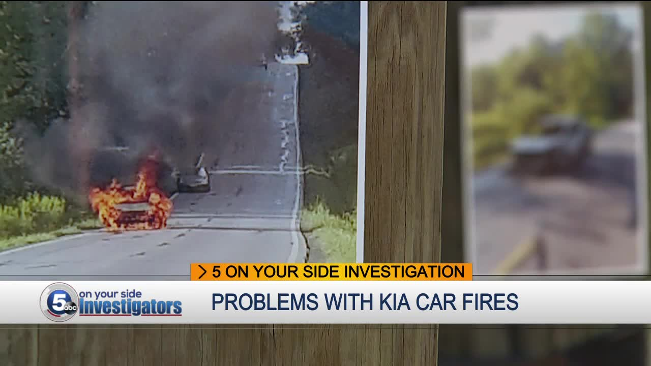 hight resolution of hiram woman scared to death as her kia car caught fire more questions about kia safety issues
