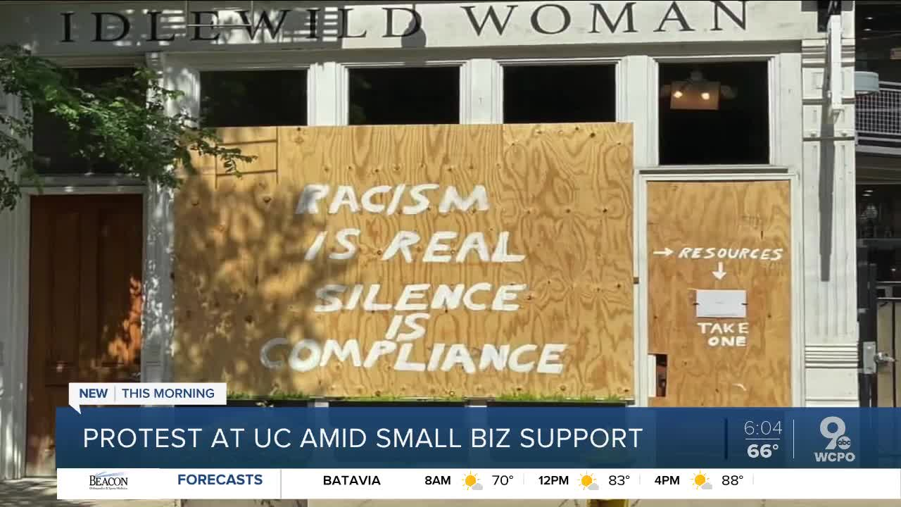 OTR business owner offers ways to help aid protests. African American community