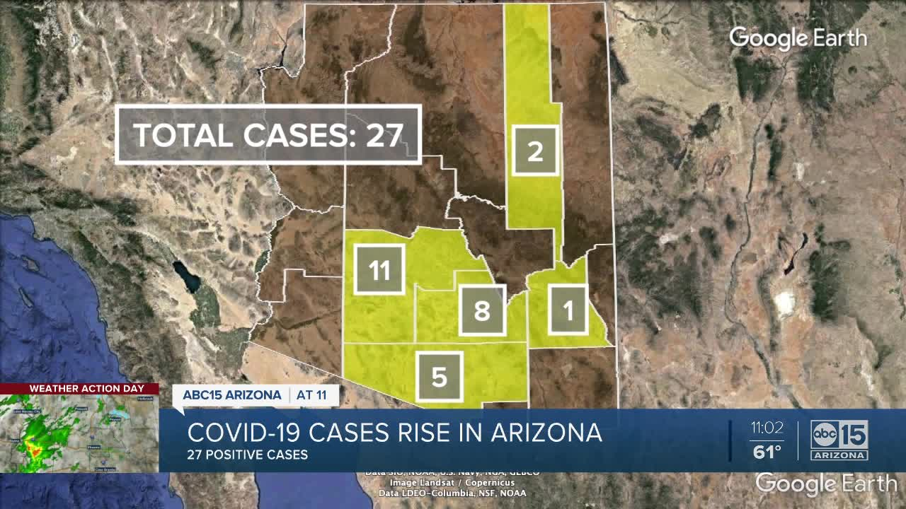 Coronavirus in Arizona: Tracking latest cases, updates in our state