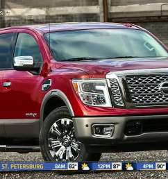 nissan is recalling more than 91 000 titan pickup trucks due to an electrical short that could cause the engine to stall posing a crash risk  [ 1280 x 720 Pixel ]