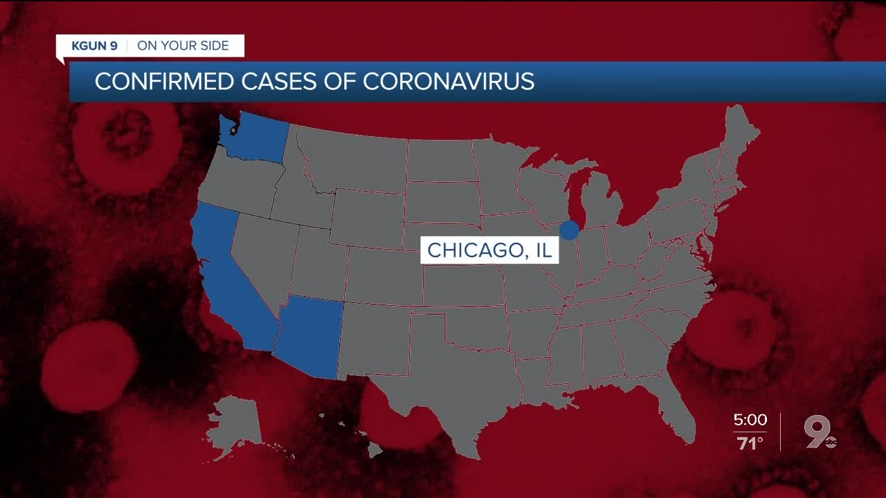 One case of coronavirus confirmed in Maricopa County, ADHS says