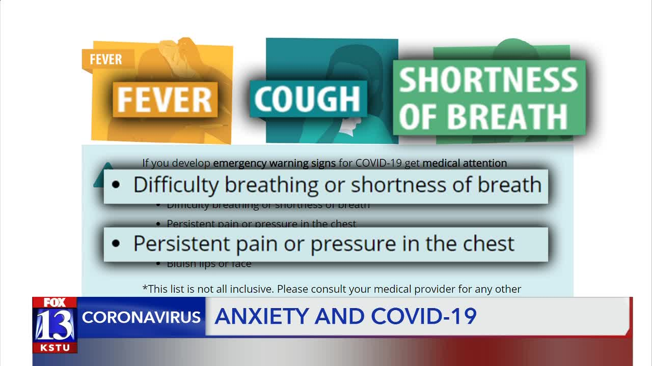 Shortness of breath: Is it stress, anxiety or a symptom of COVID-19?