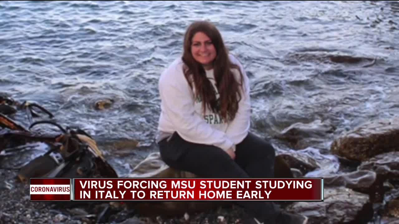MSU student studying abroad may lose credits after she was told to ...