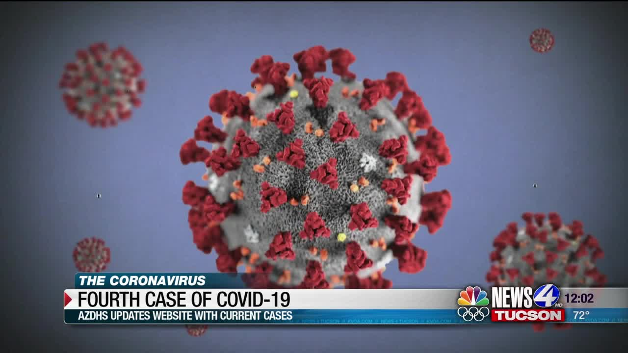 AZDHS: Fourth confirmed case of COVID-19 in Pima County