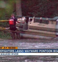 pontoon boat poster [ 1280 x 720 Pixel ]