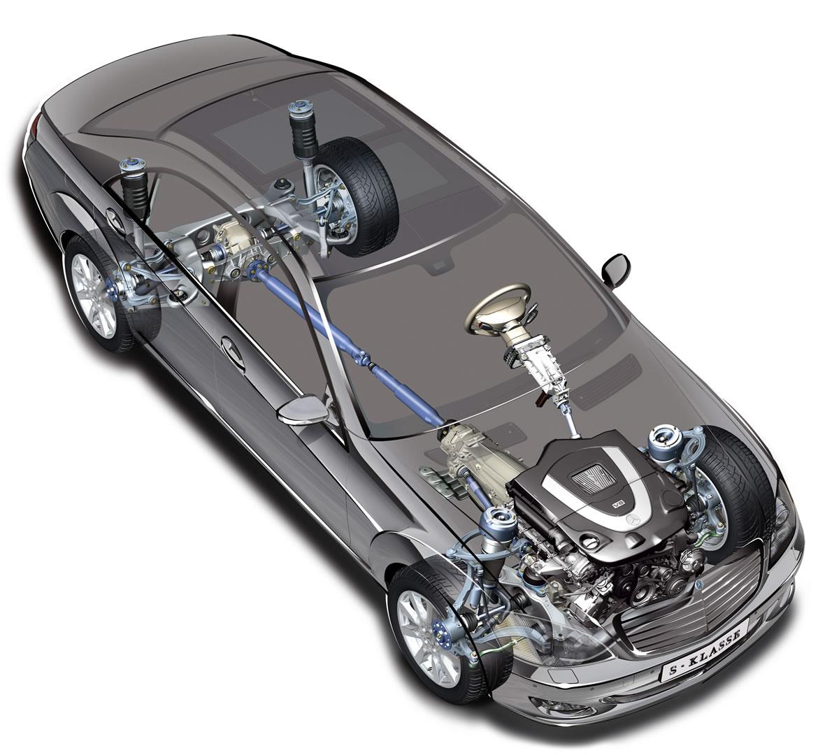 mercedes s350 bluetec 4 matic all wheel drive awd system [ 1200 x 1080 Pixel ]