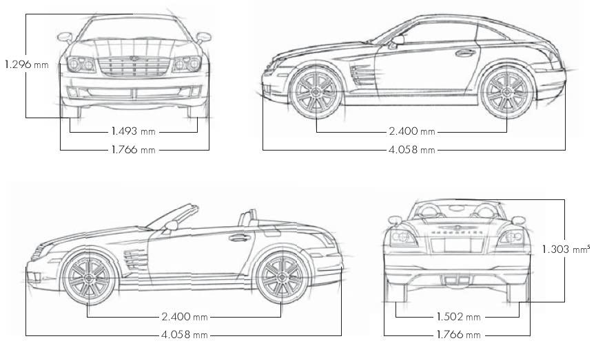 Chrysler Crossfire 3,2 V6 Coupe