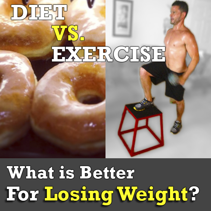 diet vs exercise for weight loss