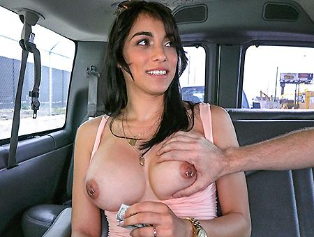 Jessi and her Bangin Ride through Hialeah  Bangbus
