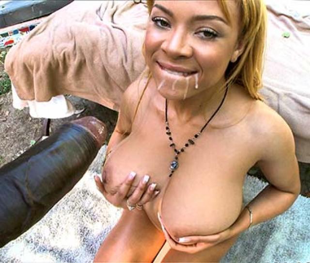 Big Tit Ebony Takes Some Black Dick