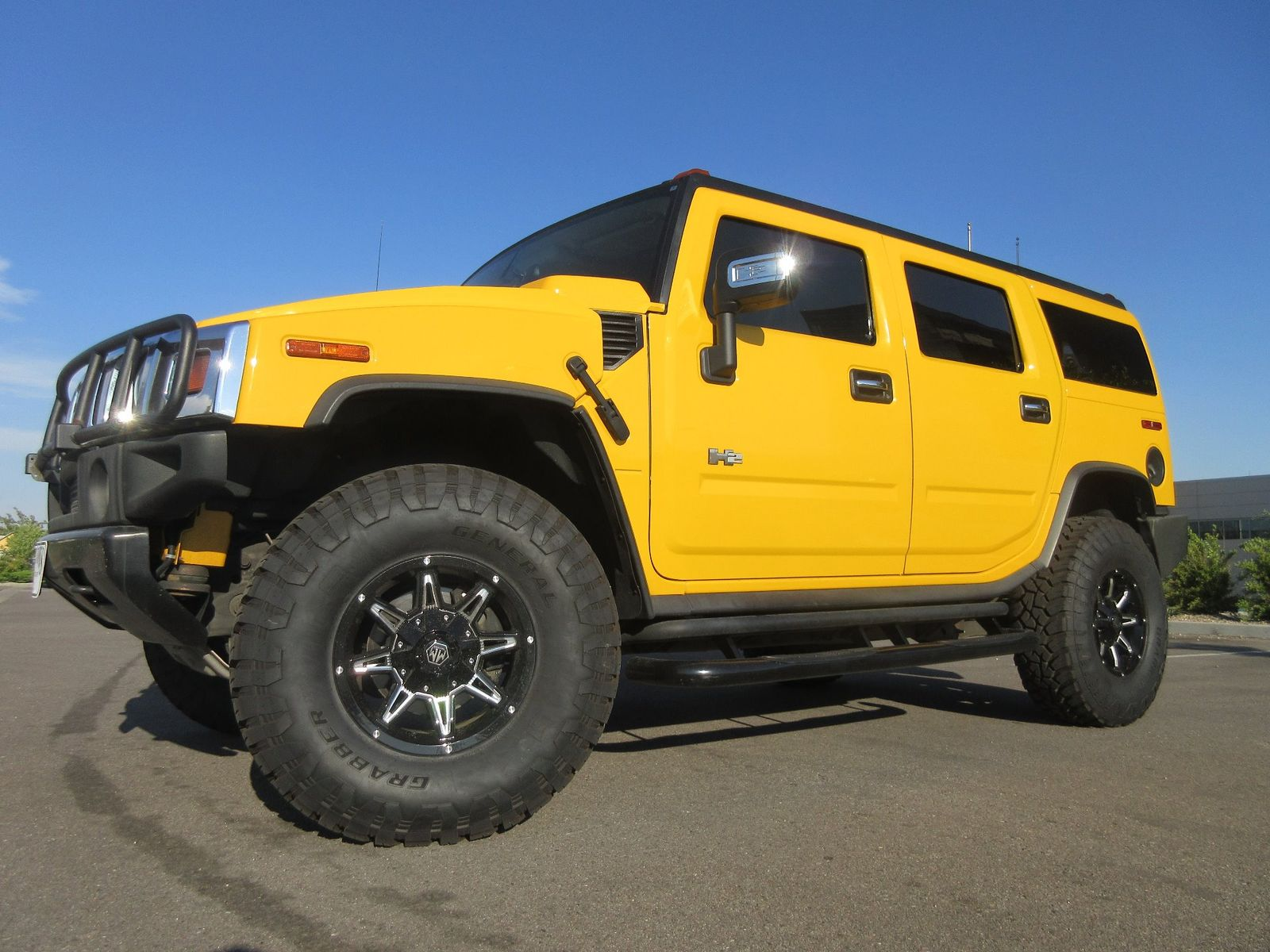 2004 Hummer H2 AWD w 20s Fultons Used Cars Inc