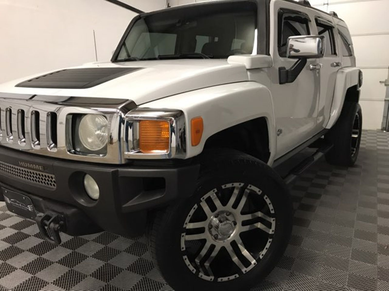 2006 Hummer H3 Luxury AWD 22 wheels Leather city OK Direct Net Auto