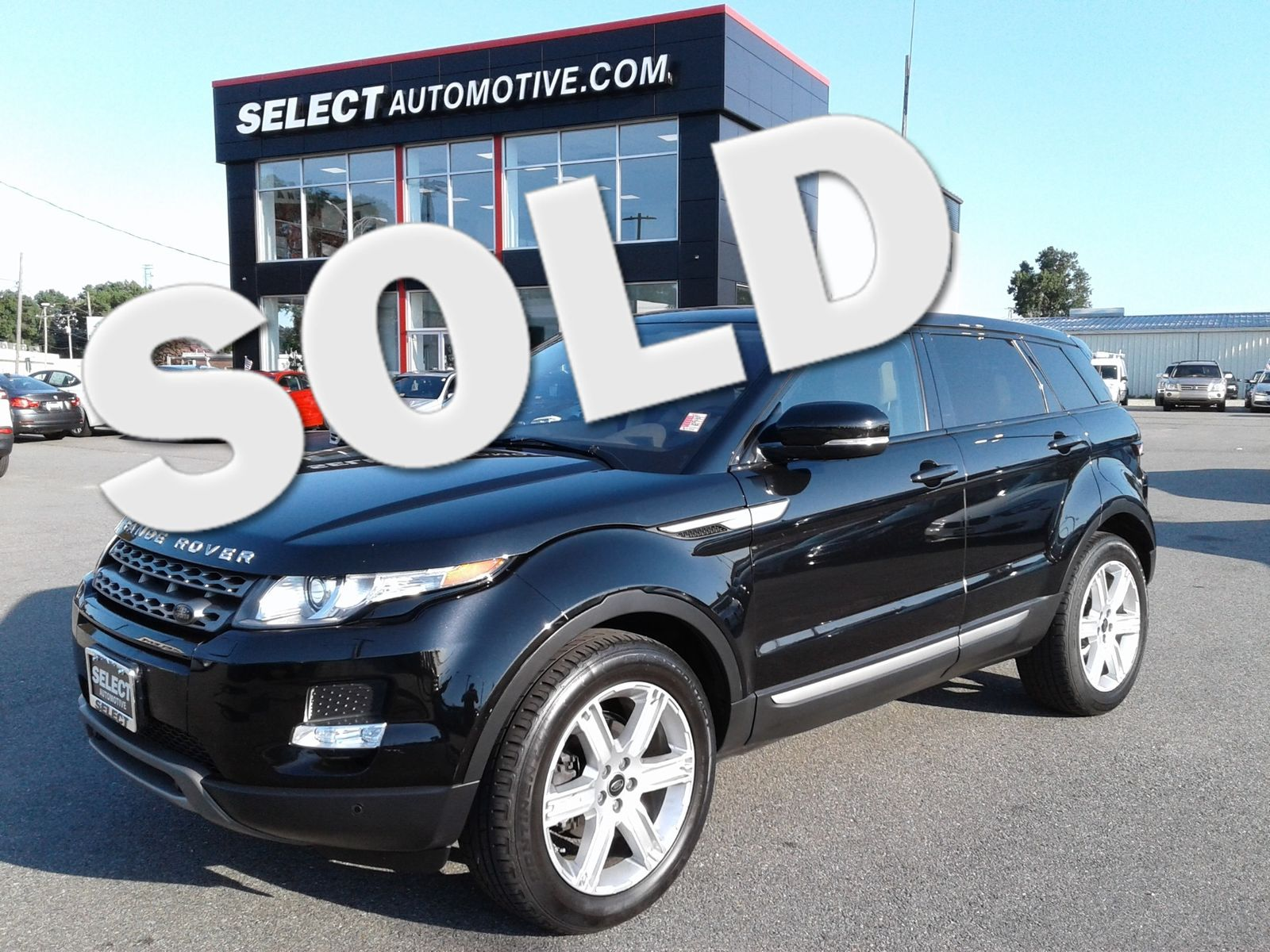 2013 Land Rover Range Rover Evoque Pure Plus city Virginia Select