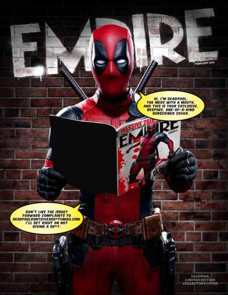 Empire Magazine - Deadpool (Subscriber-Only Cover)
