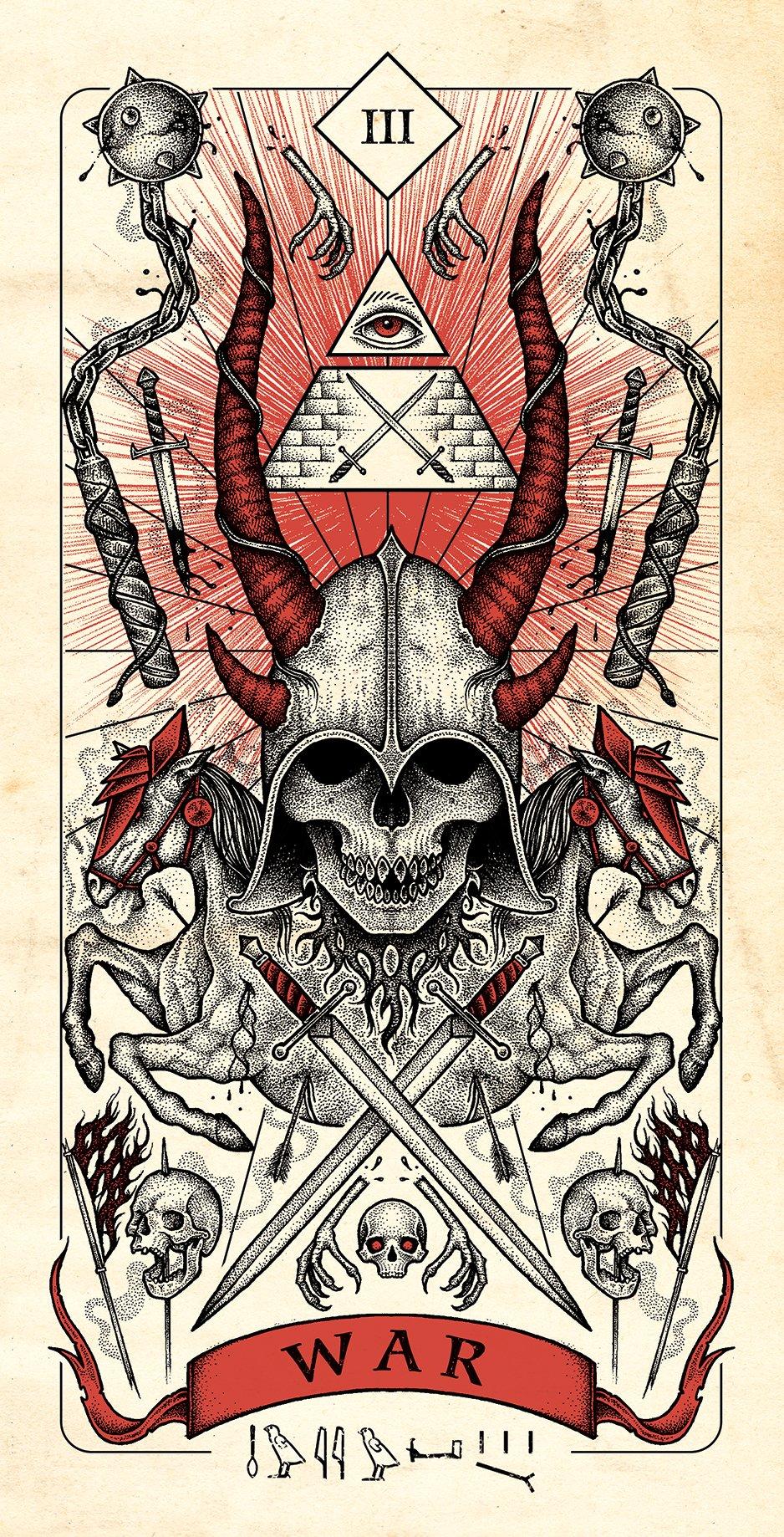 War Archangel Tattoo
