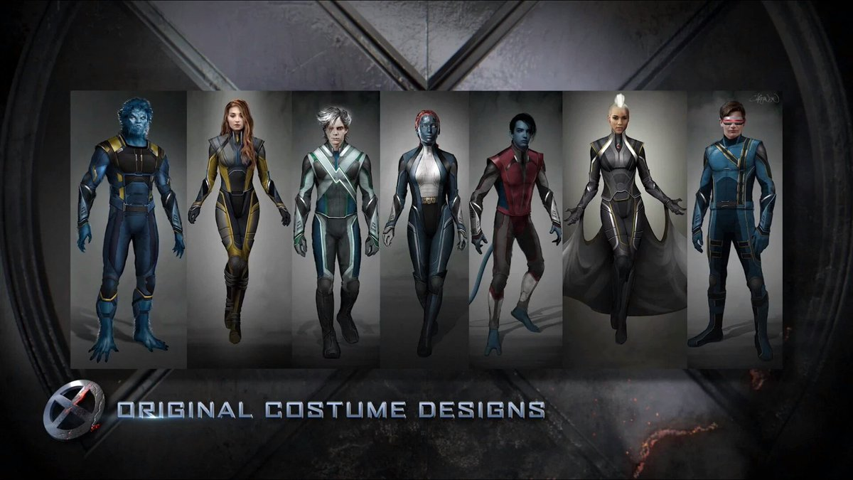 MEN: APOCALYPSE concept art shows off the mutants' final costumes ...X Men Days Of Future Past Jean Grey