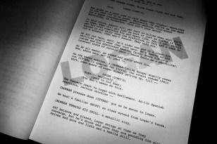 LOGAN screenplay
