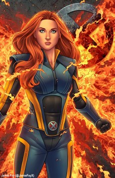 Jean Grey by Jamie Fay
