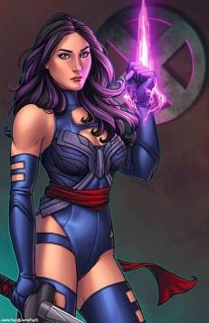 Psylocke by Jamie Fay