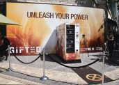 "LOS ANGELES- SEPTEMBER 24: Fox's ""The Gifted"" Vending Machine Stunt at The Grove on September 24, 2017 in Los Angeles, California. (Photo by Scott Kirkland/Fox/PictureGroup)"
