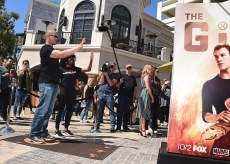 "LOS ANGELES- SEPTEMBER 24: Coby Bell at Fox's ""The Gifted"" Vending Machine Stunt at The Grove on September 24, 2017 in Los Angeles, California. (Photo by Scott Kirkland/Fox/PictureGroup)"