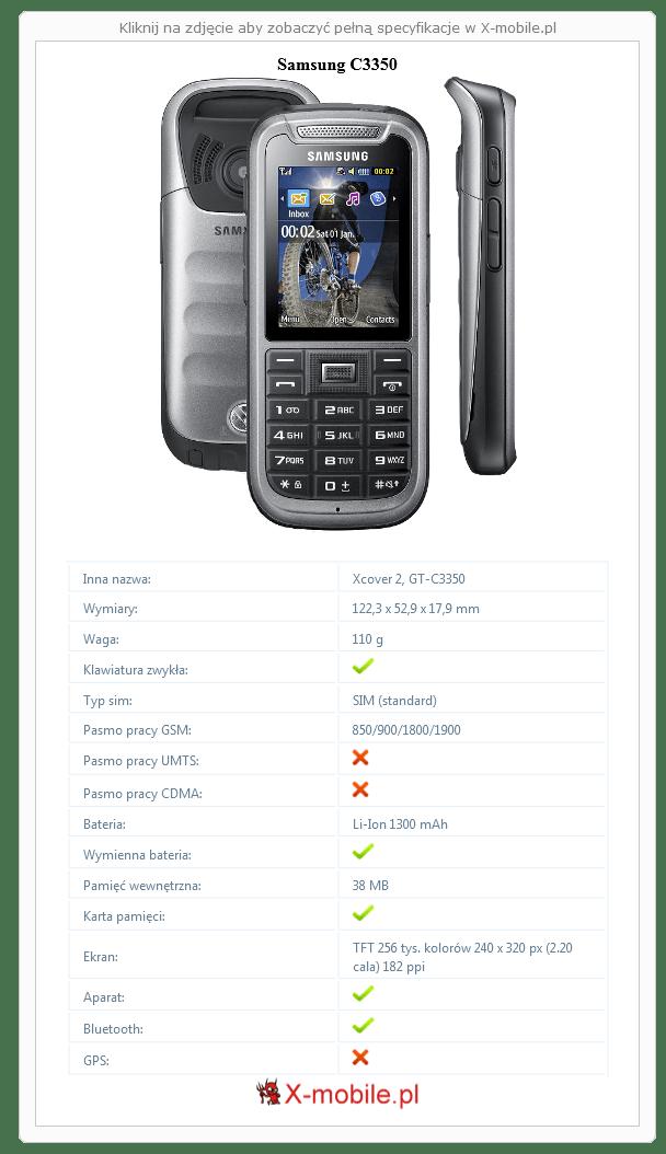 Samsung C3350 Galeria telefonu :: X-mobile.pl (Xcover 2