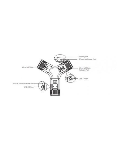 YEALINK YEALINK CP960 Terminal de Audioconferencia HD 24