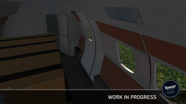 Let L-410 Turbolet - Visual update #2 - cockpit and cabin