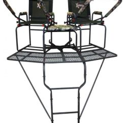 High Chair Deer Stand Distressed Black Dining Room Chairs X Treestands Ladderstands Tripods Shooting Benches And The Comrade Ladderstand
