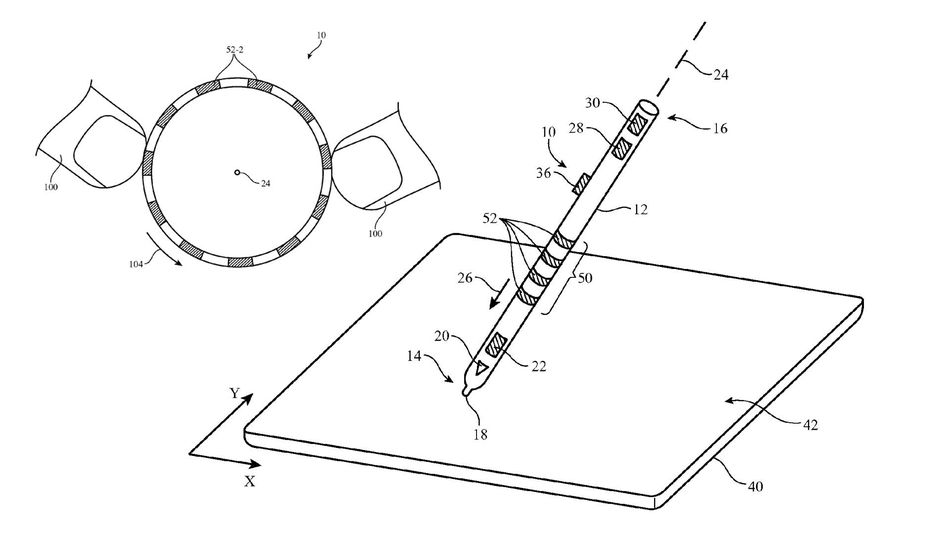 Apple may be developing fancy, high-tech styluses with new
