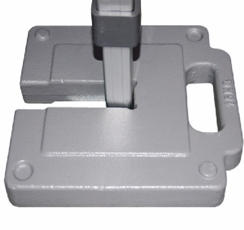 gewicht x-tent.com quadratprofil