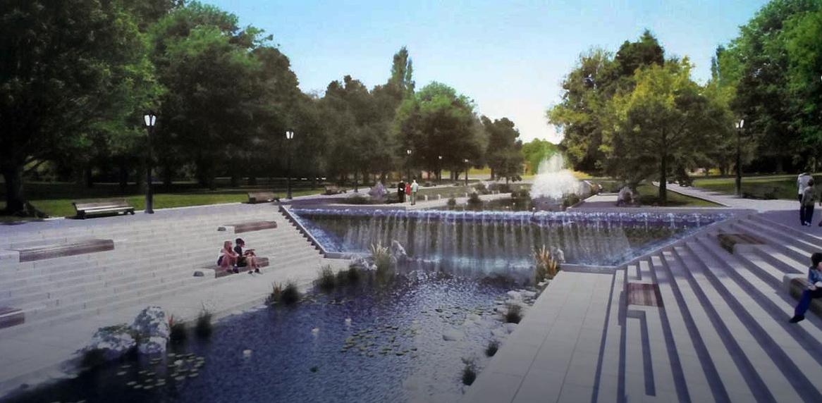 У Харкові відкрили частину саду Шевченка