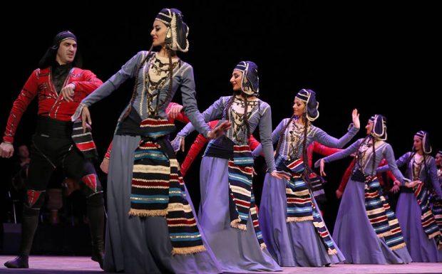 У Харкові виступив ансамбль пісні і танцю «KUTAISI»