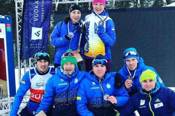 Паралімпійці-лижники завоювали медалі етапу Кубку світу