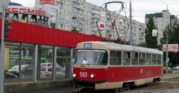Сьогодні у Харкові зіткнулися два трамваї