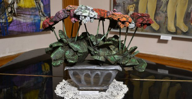 Виставка скульптури «Клумба»