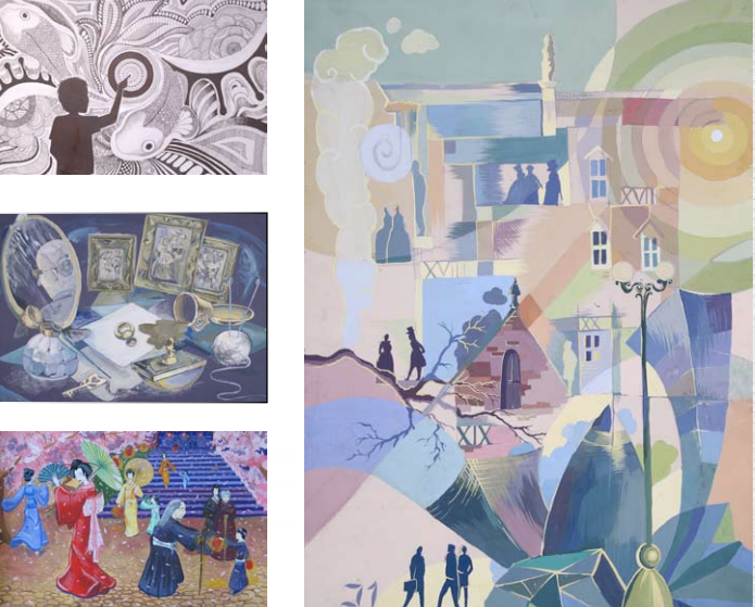 У Харкові виставка випускників знаменитої художньої школи