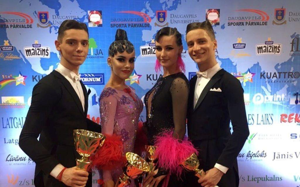 Харків'яни повернулися з нагородами танцювального турніру
