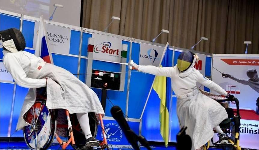 Харків'янки здобули медалі етапу Кубку світу з фехтування на візках