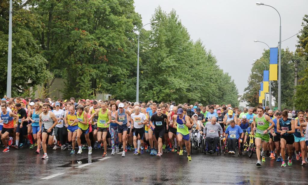 У Харкові пройшов марафон «Визволення»